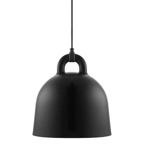 Normann Copenhagen Bell lamp, S, black