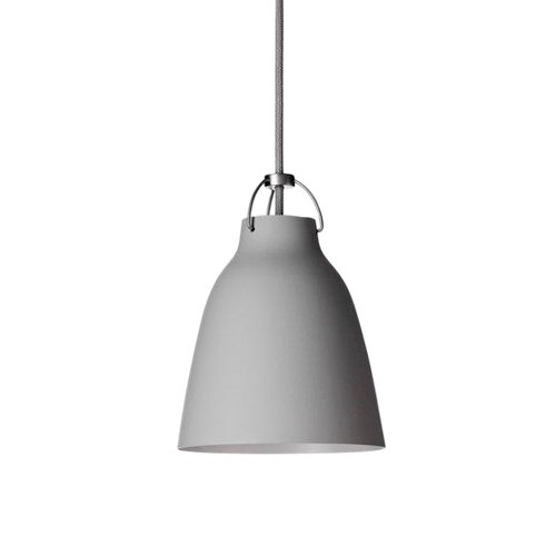 Lightyears Caravaggio P1 lamp, matt light grey