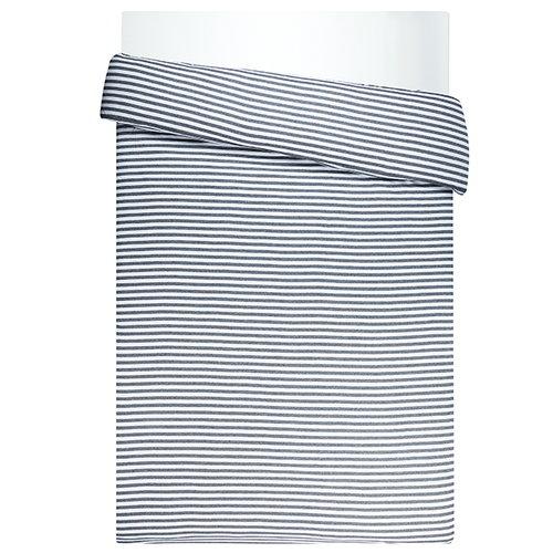 Marimekko Tasaraita pussilakana 150 x 200 cm, harmaa - valkoinen