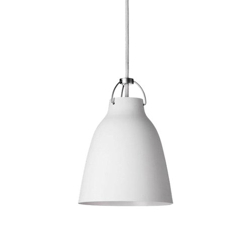 Lightyears Caravaggio P1 lamp, matt white