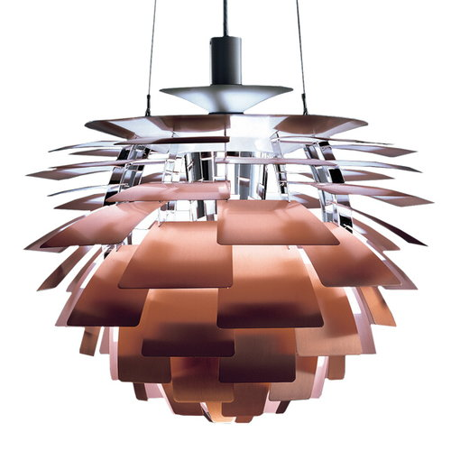 Louis Poulsen PH Artichoke pendant, 600 mm, copper