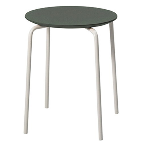 Ferm Living Herman stool, green-light grey