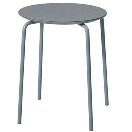 Ferm Living Herman stool, dusty blue