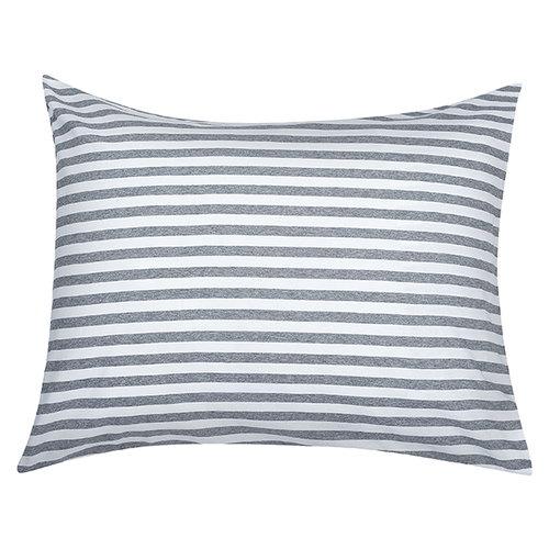 Marimekko Tasaraita tyynyliina, harmaa-valkoinen