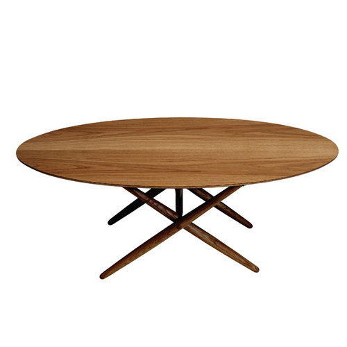 Artek Ovalette table, walnut