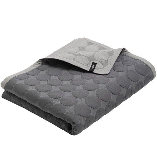 Hay Mega Dot bed cover, dark grey