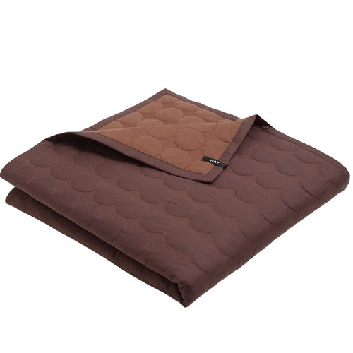 Hay Mega Dot bed cover, rust
