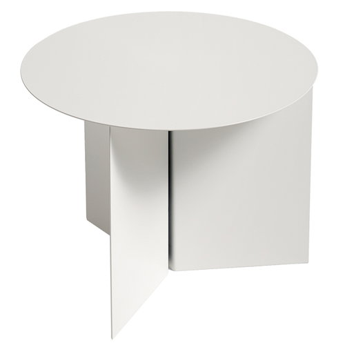 Hay Slit table Round, white