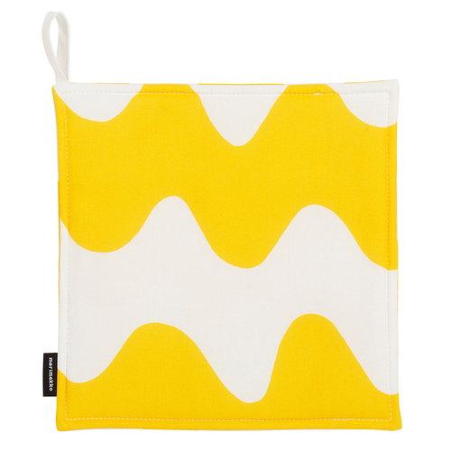 Marimekko Pikku Lokki patalappu, valkoinen - keltainen