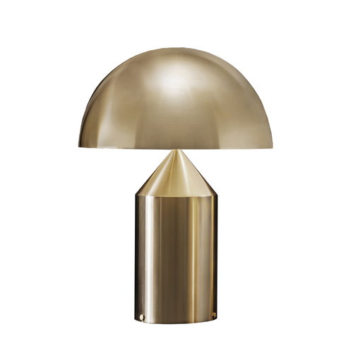 Oluce Atollo 238 table lamp, gold