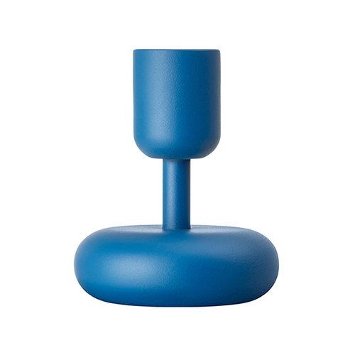 Iittala Nappula kynttil�njalka 107 mm, tummansininen