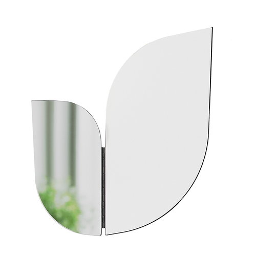 Katriina Nuutinen Perho mirror, small, white