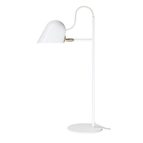 Örsjö Streck table lamp, white-brass
