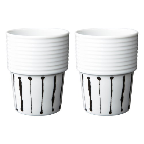 R�rstrand Filippa K kahvimuki 0,31 L, 2 kpl, Ink stripe