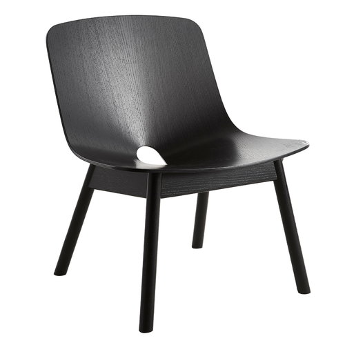 Woud Mono lounge chair, black