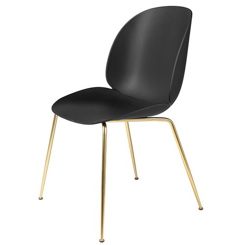 Gubi Beetle chair, brass / black