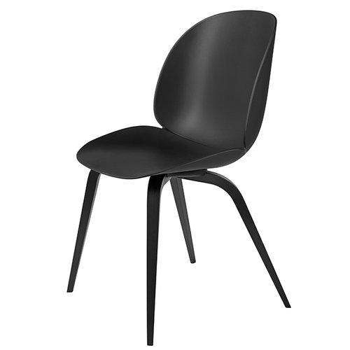 Gubi Beetle chair, black beech / black