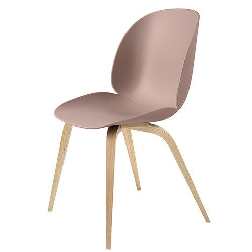 Gubi Beetle tuoli, tammi / sweet pink