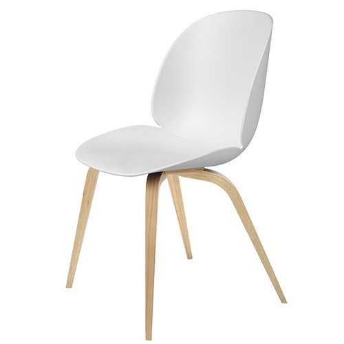 Gubi Beetle chair, oak / white
