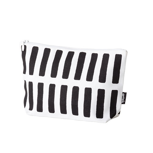 Artek Siena pouch, small, white, black