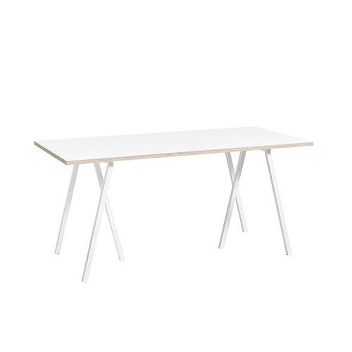 Hay Loop Stand pöytä 160 cm, valkoinen