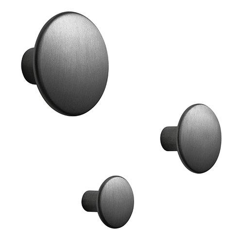 Muuto The Dots Metal ripustin, musta