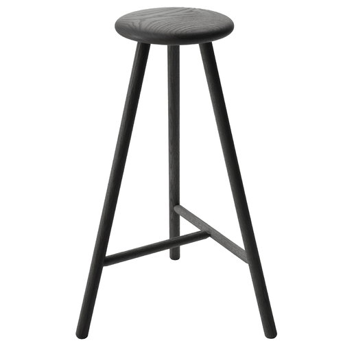 Nikari Perch bar stool 75 cm, black