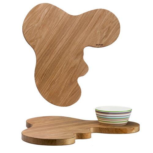 Iittala Aalto wooden serving dish