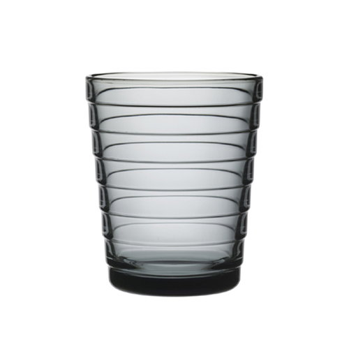 Iittala Aino Aalto tumbler 22 cl, grey, set of 2