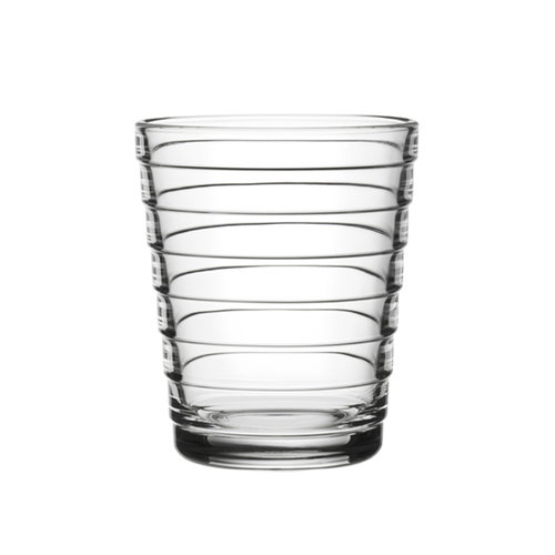 Iittala Aino Aalto tumbler 22 cl, clear, set of 2