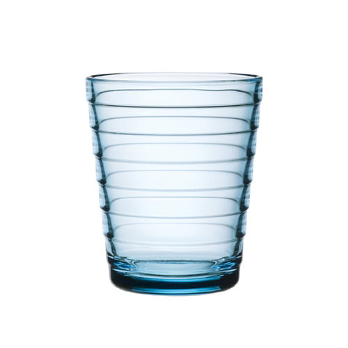 Iittala Aino Aalto tumbler 22 cl, light blue, set of 2