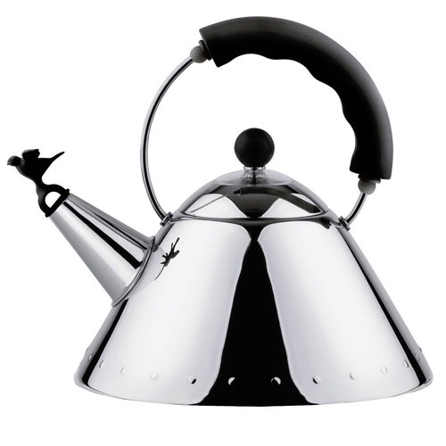 Alessi Kettle 9093, black