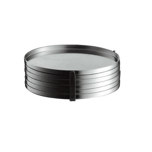 Stelton Sottobicchieri Arne Jacobsen (6 pz)