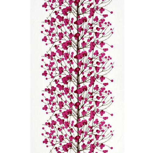 Marimekko Tessuto Lumimarja, rosa