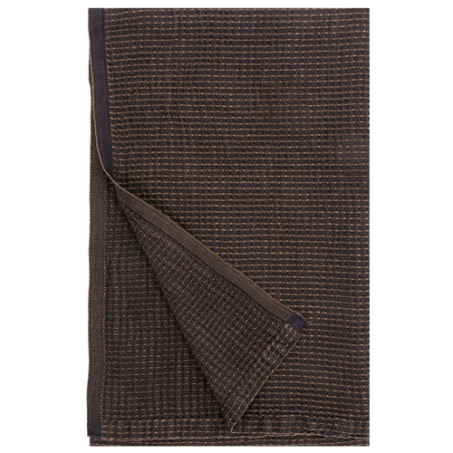 Lapuan Kankurit Maja blanket, black - brown