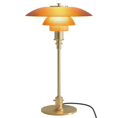 Louis Poulsen PH 3-2 table lamp, amber