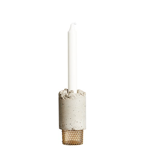 New Works Crowd candleholder, Moira Mesh
