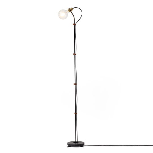 New Works Five floor lamp, black