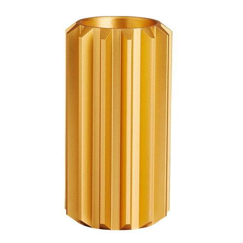 New Works Gear candleholder, gold, high