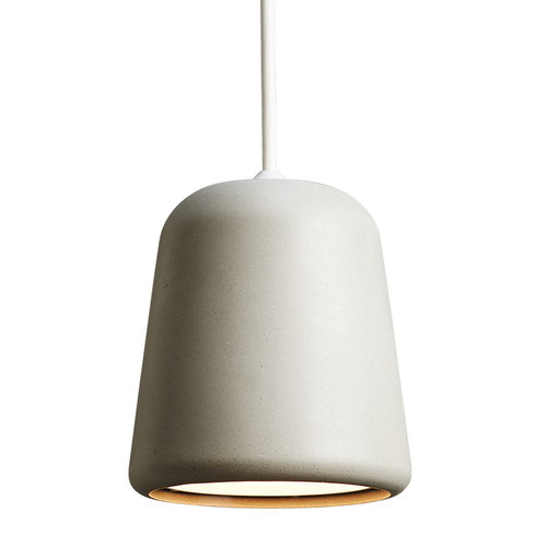 New Works Material pendant, light grey concrete