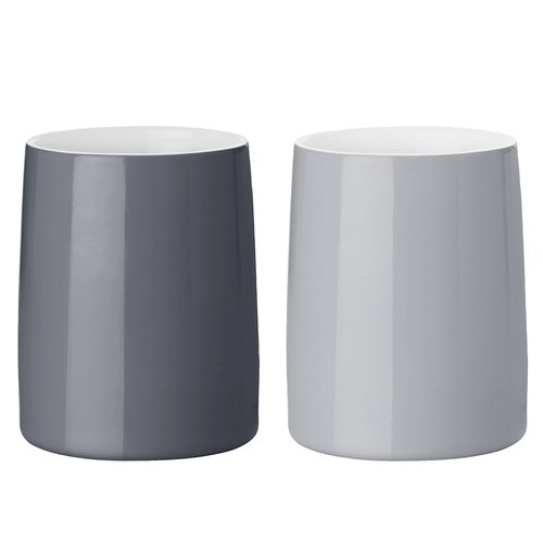 Stelton Emma thermo cup 2 pcs, grey