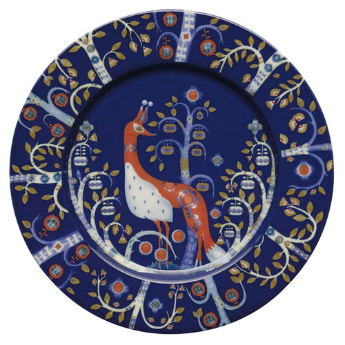 Iittala Taika plate 22 cm, blue