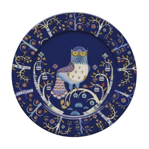 Iittala Taika plate 30 cm, blue