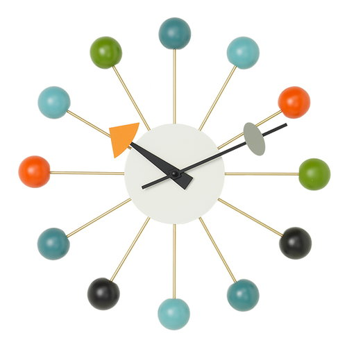 Vitra Ball Clock, multicolor