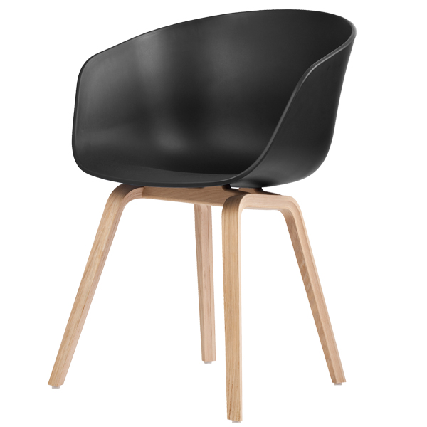 hay about a chair aac22 black soaped oak finnish. Black Bedroom Furniture Sets. Home Design Ideas