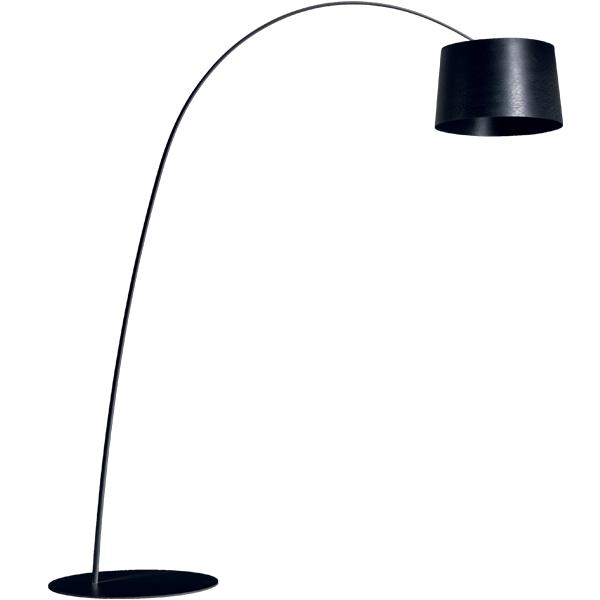 foscarini twiggy floor lamp black finnish design shop. Black Bedroom Furniture Sets. Home Design Ideas