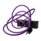 N.U.D. Collection Nud Extend 3-way extension cord, purple