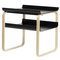 Artek Aalto side table 915, black - birch