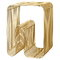 AYTM Curva stool, gold