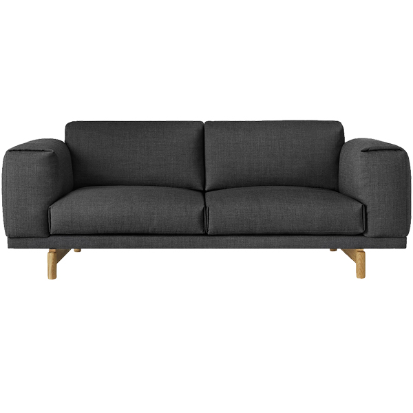 muuto rest sofa 2 seater finnish design shop. Black Bedroom Furniture Sets. Home Design Ideas